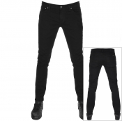 Product Image for Nudie Jeans Skinny Lin Skinny Jeans Black Black